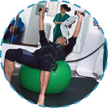 electro-estimulación muscular de alto rendimiento